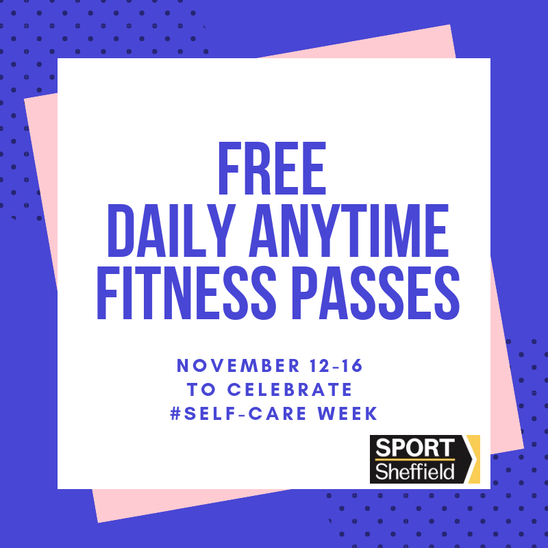 FREE Anytime Fitness Pass with Sport Sheffield!