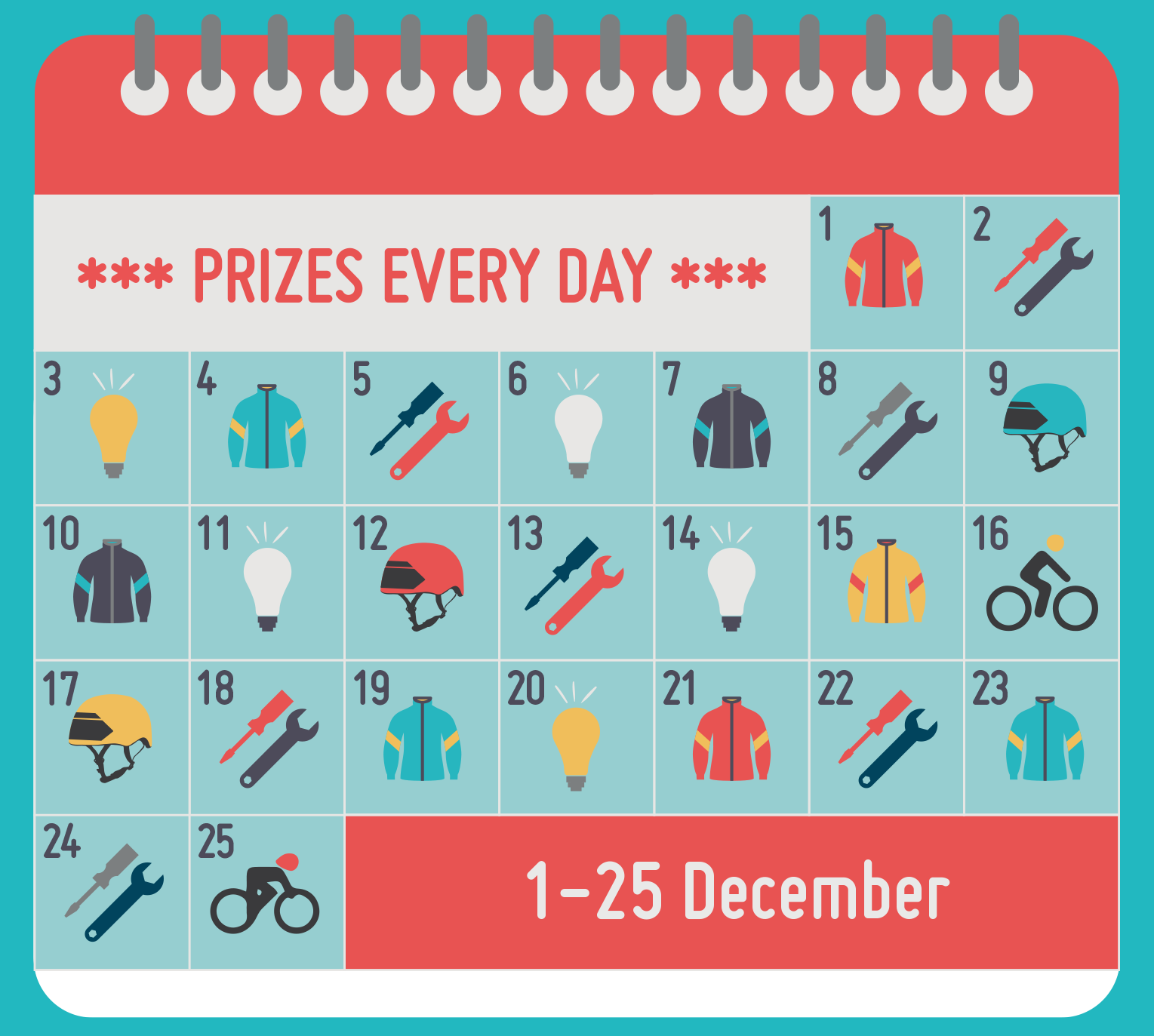 Winter Wheelers - Win Prizes!
