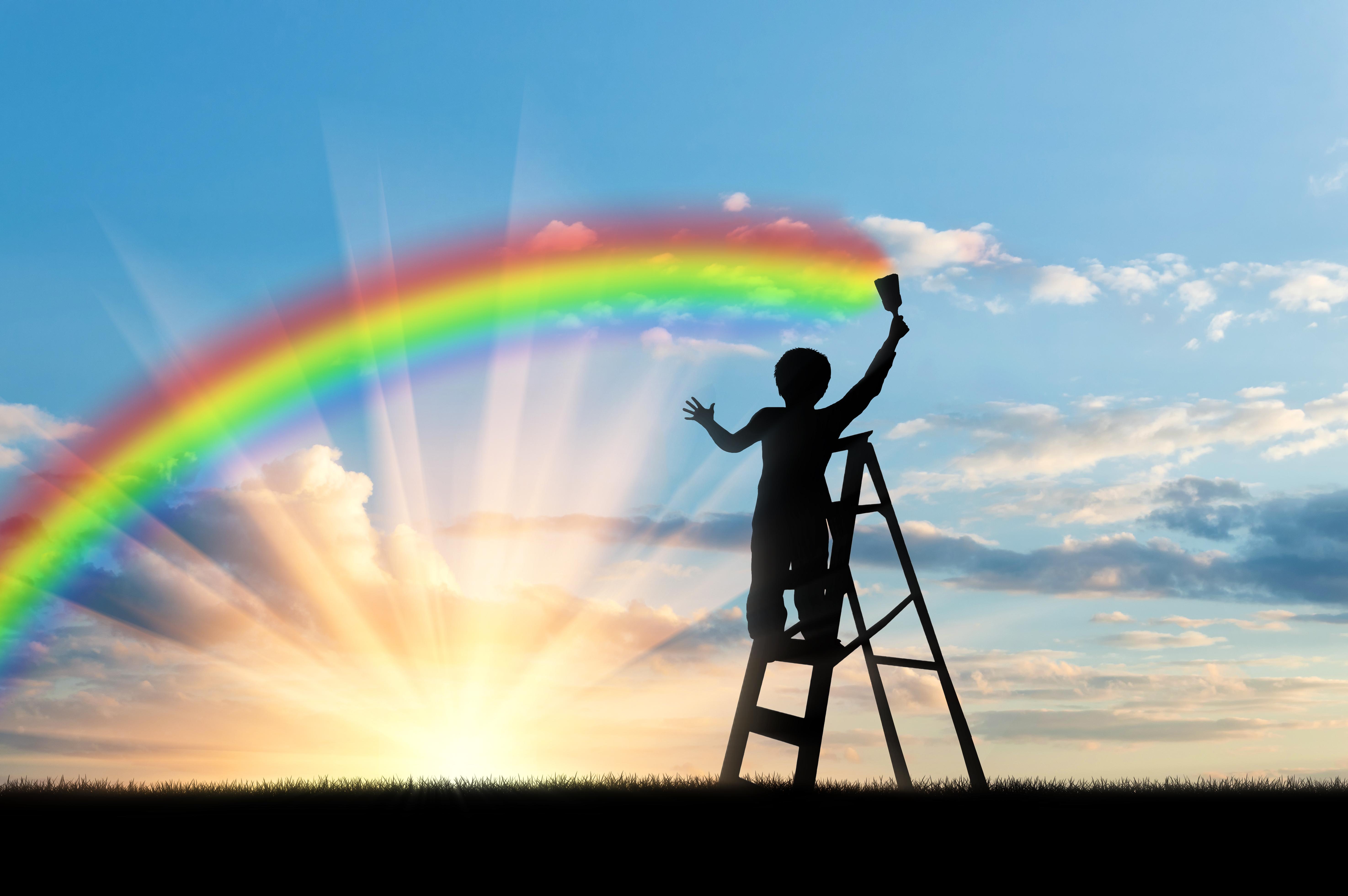 Rainbow Wall of Hope